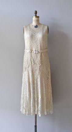 Louveciennes Lace dress / lace 20s wedding dress / by DearGolden