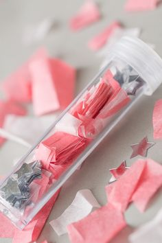 Sugar and Charm: confetti shooters