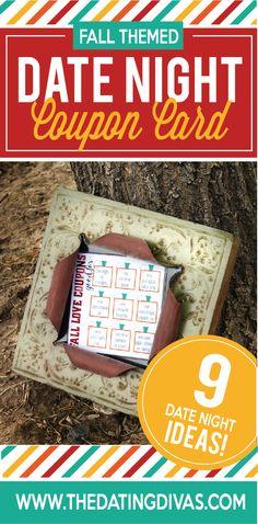 Fall Love Coupon Card