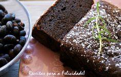 Bolo de Feijão Preto e Chocolate