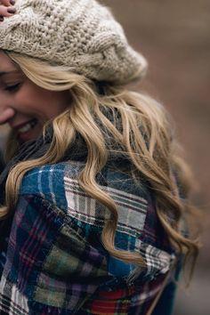 Hair and beanie