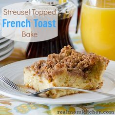 Streusel Topped French Toast Bake -