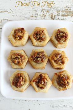 Simple Pecan Pie Puf