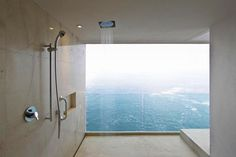 dream shower, dream view