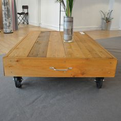 Indus on pinterest atelier loft design and industrial for Dimensions table basse