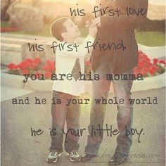 cant wait, first kiss, sons, big boys, baby boys, quot, little boys, kid, mother son