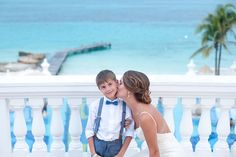 Cancun Wedding Photo