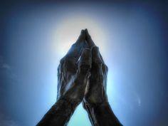 Tulsa, Oklahoma . Oral Roberts  praying hands
