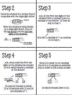 division on pinterest long division division strategies and division. Black Bedroom Furniture Sets. Home Design Ideas