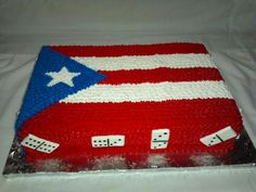 Puerto Rican pride<3 love the cake.