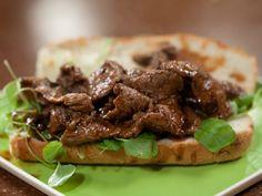 Make-ahead Meal 3 Minute Steak Hoagies with Homemade Steak Sauce Recipe : Rachael Ray : Food Network - FoodNetwork.com