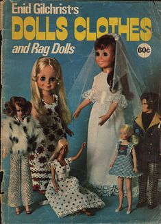 Free Copy of Booklet - Dolls Clothes and Rag Dolls