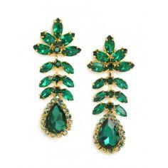 So pretty // @BaubleBar Green Leaf Antoinette Drops