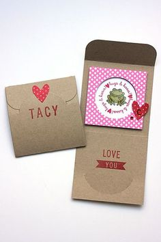 Valentine Lunch Box Notes by Heather Nichols for Papertrey Ink (January 2014)
