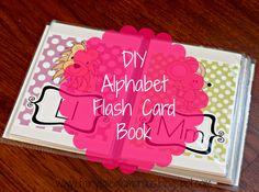 Fairy Tale Glamorous: DIY Alphabet Flash Card Book