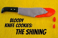 Bloody Knife Cookies Inspired By The Shining