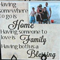 Family Photo Tile & a Free Cut File   Looksi Square