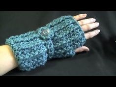Cozy Fingerless Gloves Crochet Tutorial