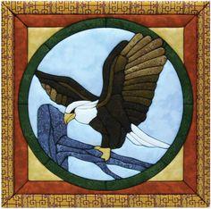 "Eagle Quilt Magic Kit-12""X12"""