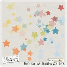 Here Comes Trouble freebie from Bella Gypsy Designs