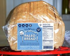 Paleo Bread™ Coconut Now Has 40 Calories 5g Protein and 5g Of Fiber, and 1 Impact Carb. It's Gluten Free & Grain Free with No Soy, Or Yeast. It makes delicious toast and has a light Coconut flavor. Made with Coconut Flour and Egg Whites. Non GMO! Available In Stores Or Online: http://www.julianbakery.com/paleo-product/paleo-bread-coconut-1-carb (1 WW Point)