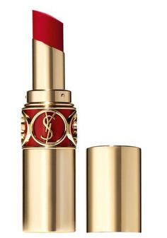 YSL red lipstick