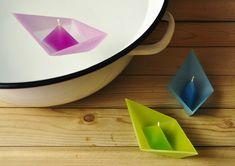 origami sailboat, origami boat, float candl, float origami, floating candles, boat candl, boats, pools, candl float