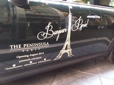 Arriving in style, both the opening of The Peninsula Paris and our MINI Cooper! #SpotTheMINI