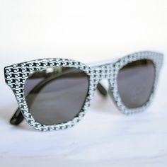 houndstooth sunglasses