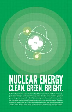 For nuclear energy