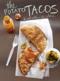 Potato Tacos {recipe}