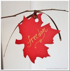 Thanksgiving Tree - Start a fun and meaningful family tradition
