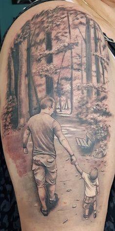 Tattoo erinnerung verstorbenen vater