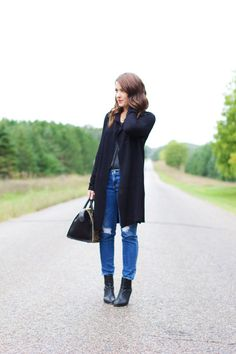 Fall Layers   Sequins & Stripes