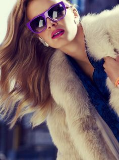 Love it. So glam!. #fur coat, #fur madness