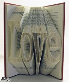 Cool idea for an old hardback book decor.