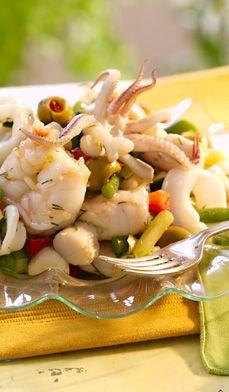 Garden Seafood Salad