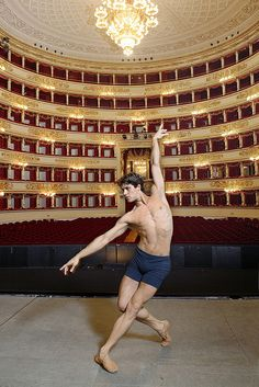 Roberto Bolle. I want one...