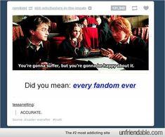 harri potter, geeki, fandoms tumblr, funni, fangirl
