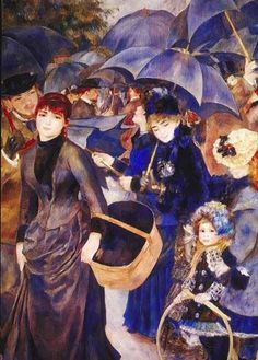 The Umbrellas by Renoir  Nine of Renoir's most iconic impressionist paintings will be on exhibit at The Frick from major museums from around the globe. The Frick Collection.