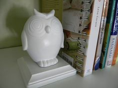 Dollar Store Bookends owl bookend, interior, small room, bookends, craft stores, dollar store crafts, diy bookend, dollar store finds, owls