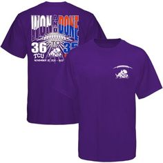 """Won and Done"" t-shirt commemorating TCU's big win against Boise State - love. it."