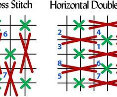 Multi cross-stitches