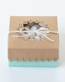 Frame Border Punch Cookie Box   Step-by-Step   DIY Craft How To's and Instructions  Martha Stewart