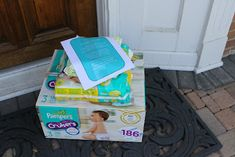 Ding Dong Diaper Ditch: You've been PAMPERed! Love it for new parents!