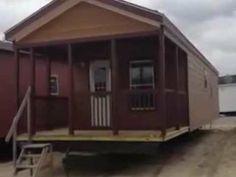 1 bedroom 1 bath porch model cabin $CLEARANCE!