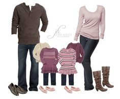 how to coordinate outfits for a family photo session