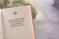 something to keep in mind
