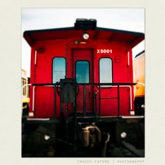 Hey, I found this really awesome Etsy listing at http://www.etsy.com/listing/115298288/train-photography-crimson-red-caboose