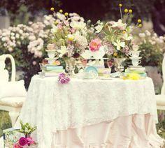 """Decoración de boda temática """"Alicia en el país de las maravillas"""" [Fotos]"""